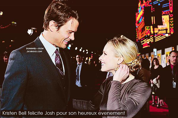 *24 / 02 / 13 - Josh à la première de Safe Haven à en Allemagne avec Julianne Hough et Nicholas Sparks.*