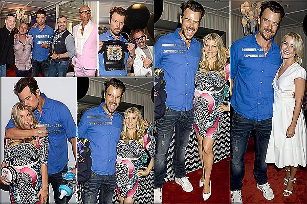 """*28/07/13: Josh Duhamel été à la baby shower de sa femme - Fergie Duhamel - """"Fergie's Gayby Shower"""" .Le théme de la baby shower été sur les bébé et gays où s'y trouvé J.Houg & M.Sims + Josh a éffectué plusieurs sorties + Photos personnelles. *"""