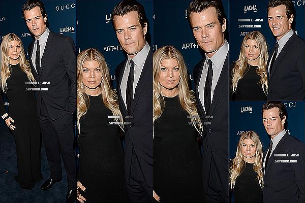 *02/11/13: Josh Duhamel et sa femme sur le tapis de l'évènement LACMA Art & Film Gala 2013 à Los Angeles. Nos deux amoureux, Josh et Fergie posaient sur le tapis bleu du LACMA Art & Film Gala 2013 pour honorer Martin Scorsese and David Hockney.  *