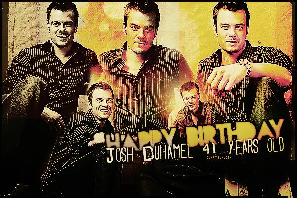 *Duhamel-Josh.skyrock.com souhaites un Joyeux Anniversaire à Josh Duhamel pour ses 41ans!  En ce 14 novembre 2013 notre beau Josh Duhamel fêtes son 41éme anniversaire. Nous lui souhaitons tous un très Joyeux Anniversaire !. *