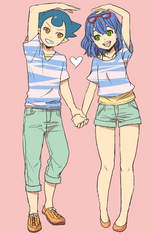 Manga couple