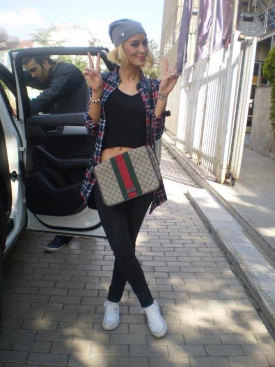 DafinaZeqiri meet her fan,DafinaPalushaj :)