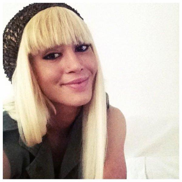 duffye,with her long hair :) she looks beautiful!