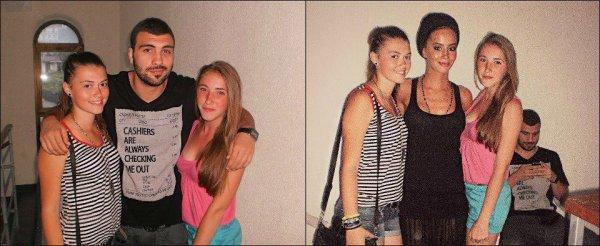 Dafina Zeqiri,me shoqeriin e saj në Ulqin,dhe fotot me fansat!