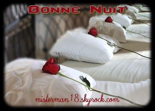 Bonne et douce nuit étoilées