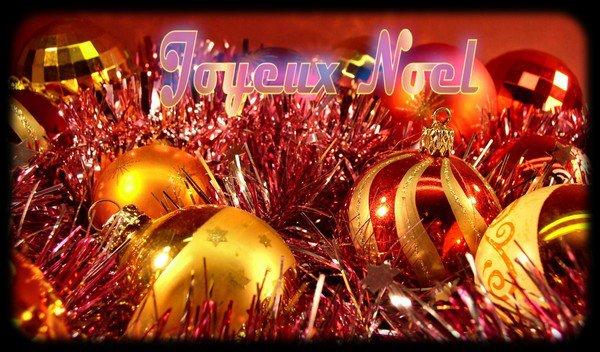 Joyeux et Bon Noel a tous ...
