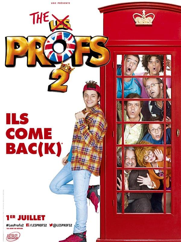 """Les Profs 2 : une 1ère affiche """"so british"""" pour la suite du carton de 2013"""