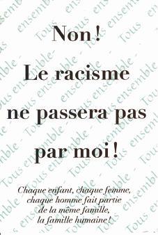 disons non au racisme.