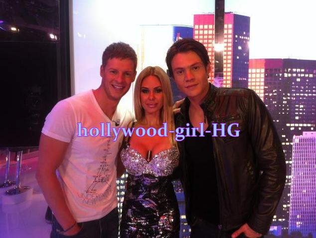 Matthieu , Shauna ( Geny G ) et Romain ( Michael )