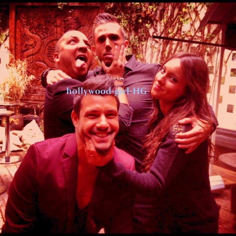 Moment de délire ? Kamel , Camille , Laura et Nicolas