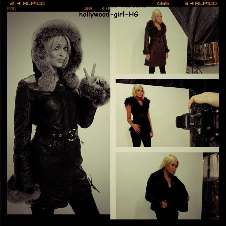 Shooting : Caroline Receveur