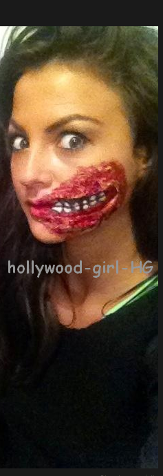 Photo inédite (Halloween) : Julia Flabat ( équipe du mag )