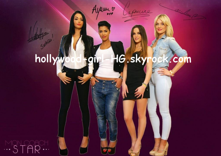 Mon coach star : Nabilla , Ayem , Capucine et Caroline
