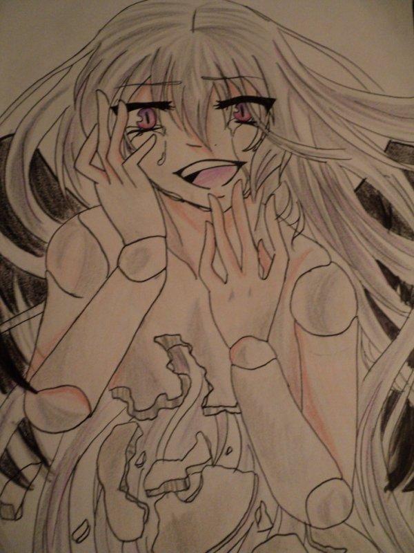 dessin #5 suigintou de l'anime==> Rozen Maiden