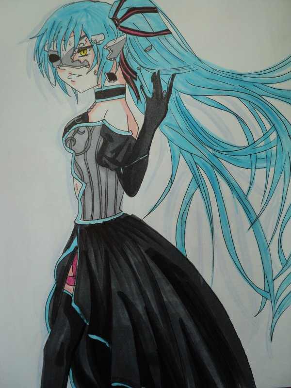 Dessin #11 ==>hatsune miku