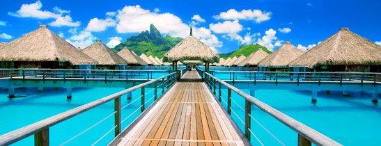 univers-du-luxe : voyage / Saint Régis Resort - Bora Bora