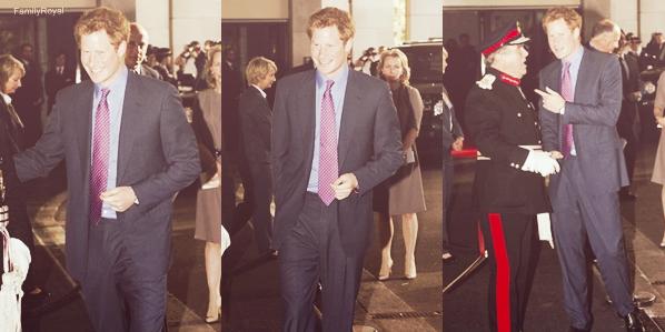 03 septembre 2012, Harry était présent à la cérémonie des WellChild Awards, cette cérémonie récompense les enfants malades et leurs familles pour leur courage.