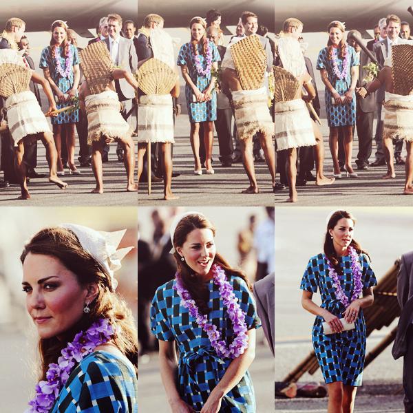 16 septembre 2012, William et Kate sont arrivé à l'aéroport de Honiara, à leur arriver ils ont traversé la route sur un bateau. Ils ont assisté à une Jubilé Thanksgiving service à la cathédrale de St Barnabé puis ensuite ils ont été dîner à la maison du Gouverneur général.