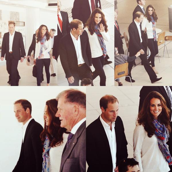 19 septembre 2012, le couple a été vu à l'aéroport de Brisbane en Australie, ils sont rentré en Angleterre !
