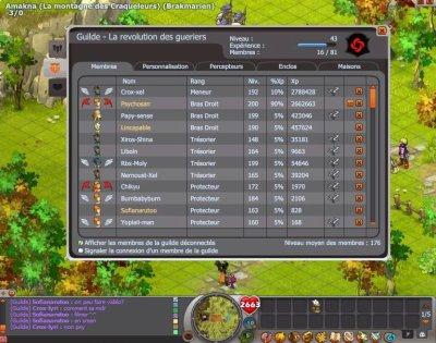 Ma guilde: la revolution des gueriers