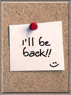 Le retour et pour bientôt !!!!!!!!!