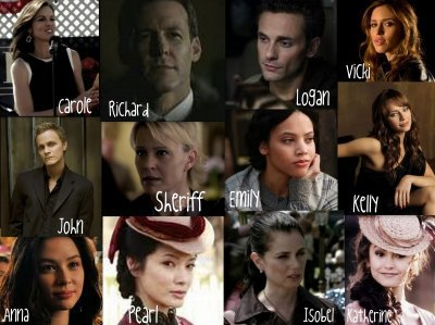 "les personnages secondaire de ""the vampire diaries"""