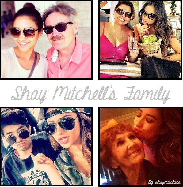 Shay Mitchell's Family