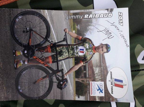 MAILLOT DE JIMMY RAIBAUD