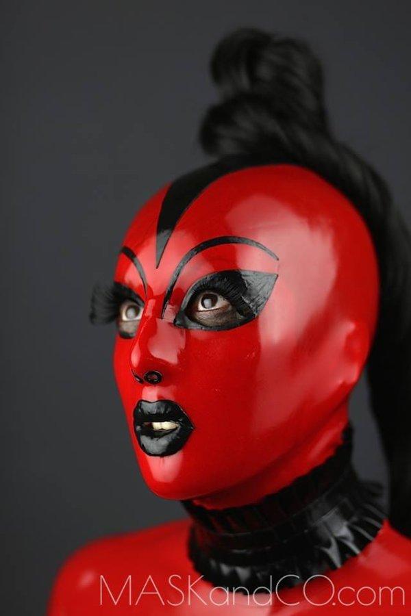 masque feu chat