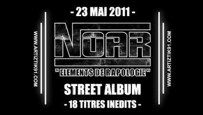 Noar (Artiztik91) arrive prochainement avec son street album Solo