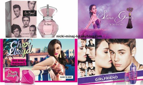 Le quelle parfum tu préfère?