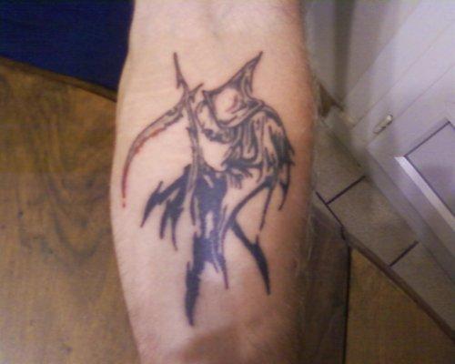 tattoo faucheuse