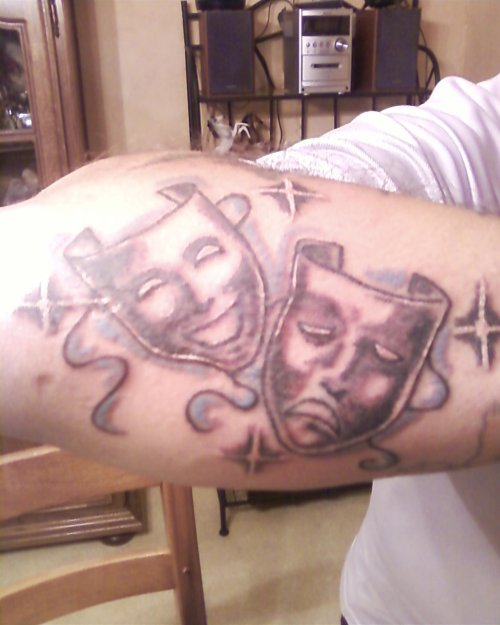 tattoo masque