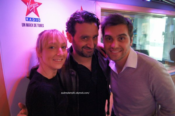 audrey lamy chez virgin radio france