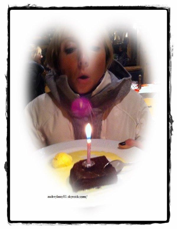 anniversaire d'audrey lamy