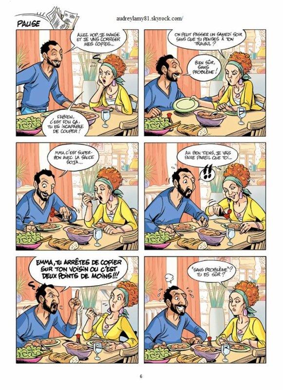 audrey lamy dans scènes de ménages