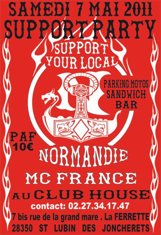support MC FRANCE CHAPITRE NORMANDIE