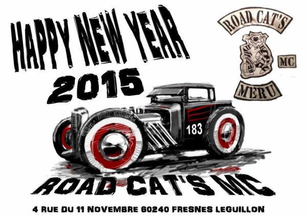 MC ROAD CAT'S  VOEUX 2015