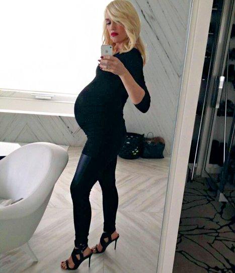 Gwen Stefani enceinte de 8 mois d'un petit garçon - Les