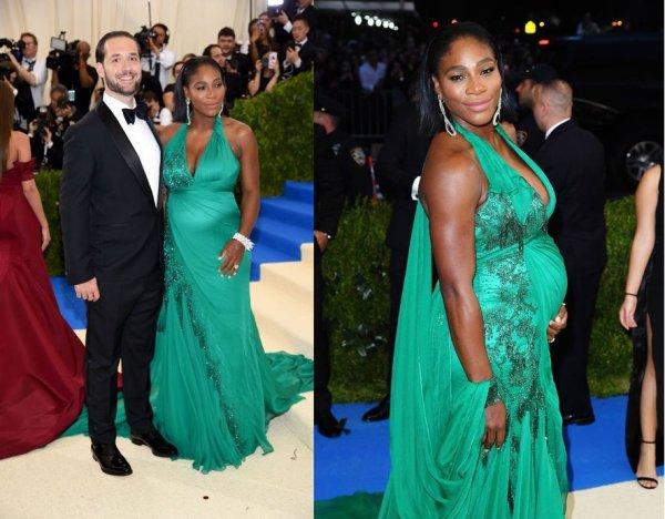 Serena Williams enceinte présente son futur mari,d'Alexis Ohanian