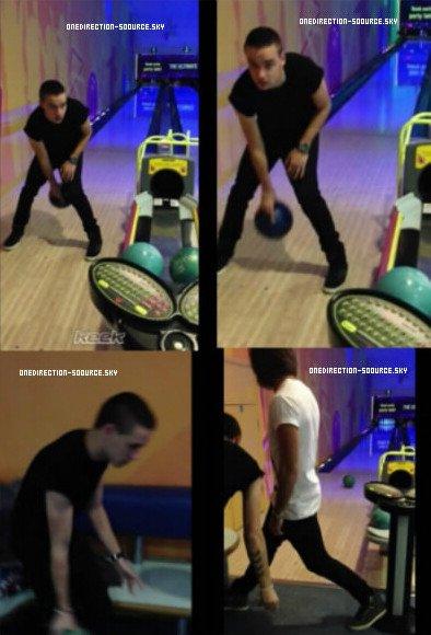 . Hier Liam est allé au bowling avec Andy .