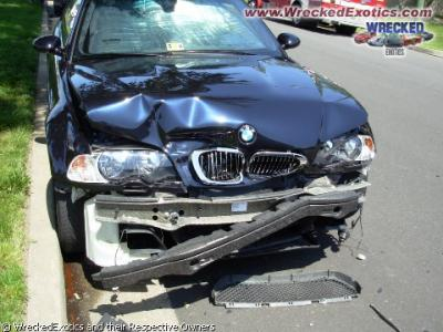 Bmw Accidentee Supercars Accidentee