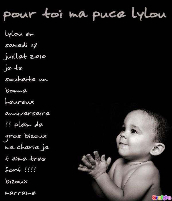 Poeme Pour Toi Ma Puce De La Part De Ta Marraine Ma