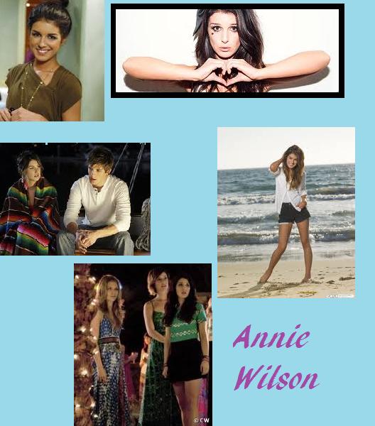 Annie wilson=Shanae Grimes