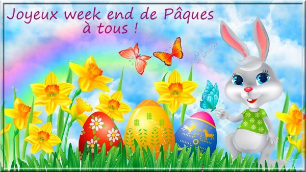 joyeux  weekend de pâques