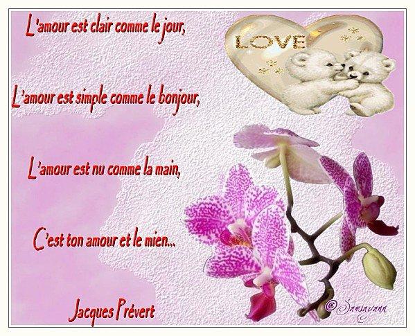Poésie Célèbre Damour Lamour De Jacques Prévert Loup