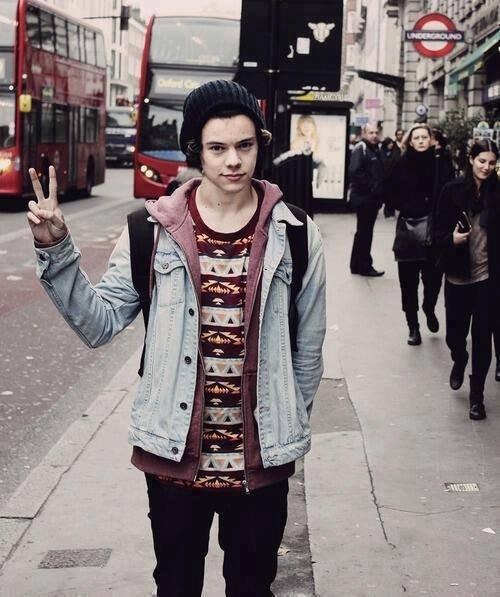 Harry , Londre me voila