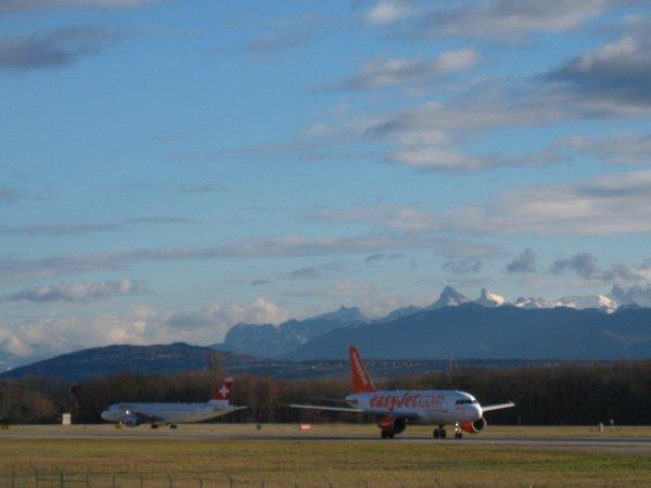 Bon voyage Easy et bisou à M. Suisse