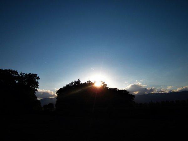 Couché du Soleil...le beau ciel du Jura...