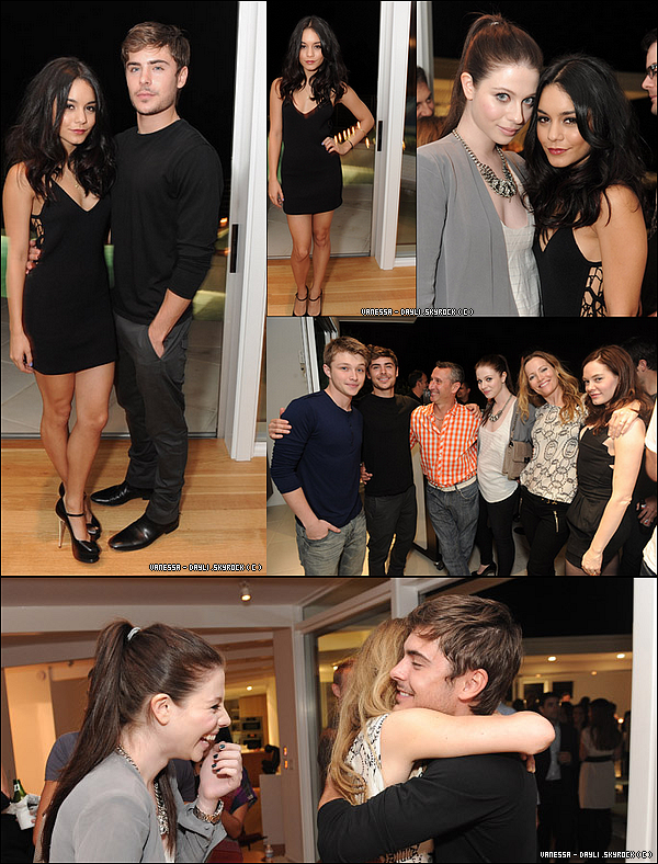 10 Aout; Vany a accompagné son amoureux, Zachary à la fête organisée par le magisine '' Détail '' dont il était la vedette . Je ne suis pas fana de sa robe, mais zac et v, sont magnifiques <3